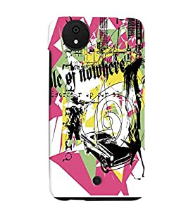 Fuson Multi things Pattern Back Case Cover for MICROMAX CANVAS A1 ANDROID ONE - D3844