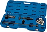 EXPERT HYDRAULIC RAM AND SLIDE HAMMER KIT - Expert Quality, comprises a ten slot universal hub adaptor plate for simple fitment to any hub bolt layout; a powerful 12 tonne hydraulic ram to remove the hub assembly and a 2.8kg slide hammer for the removal