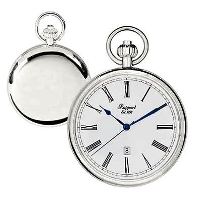 Rapport Pocket Watch PW73 Silver Tone Open Face