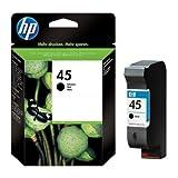 HP - Hewlett Packard DeskJet 980 CXI (45 / 51645 AE#301) - original - Printhead black - 930 Pages - 42ml
