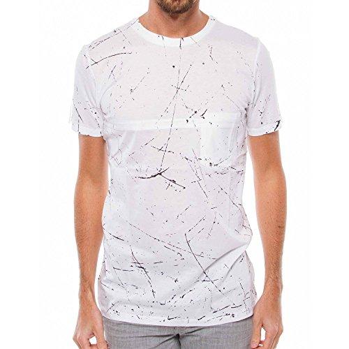 Antony Morato T-Shirt Uomo Maglietta Top Basic Bianco (Col. 1000) XL