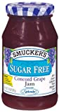 Smucker's Sugar Free Concord Grape Jam 12.75