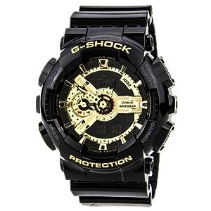 s black g shock digital anti magnetic gold