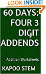 60 Days Math Addition Series: Four 3...
