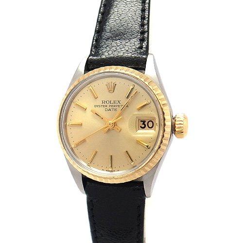 ROLEX(ロレックス)腕時計 6517 パーペチュアルデイト レディース(中古)