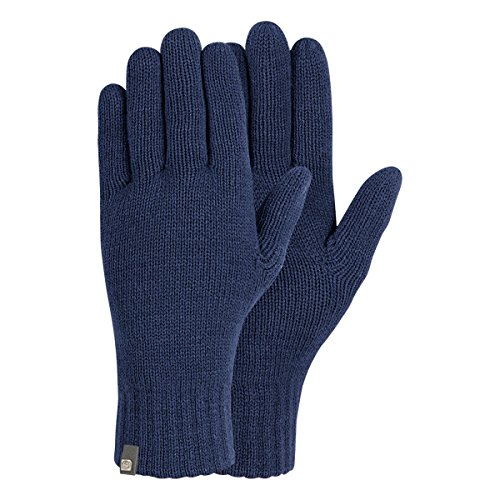 Brekka, Guanti Uomo Be, Blu (Navy), XL