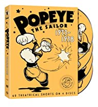 Popeye the Sailor: 1933-1938, Vol. 1