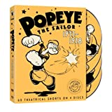 Popeye The Sailor: 1933-1938: The Complete First Volume ~ Warner Home Video