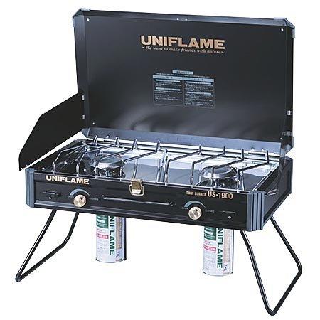 ユニフレーム ツインバーナー US-1900 ブラック 610312