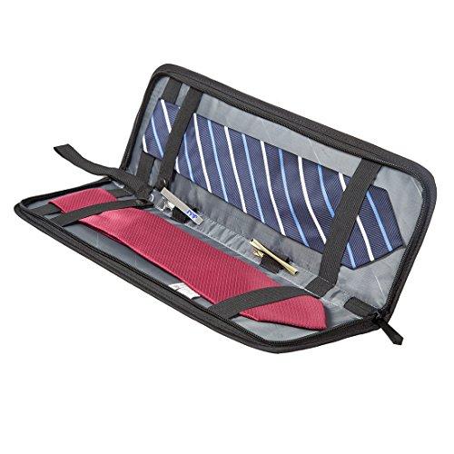 (バッグ・マート)Bags-mart ネクタイケース 2本収納可能 シワ・型崩れ防止 出張 旅行 便利グッズ バレンタイン プレゼント ギフト
