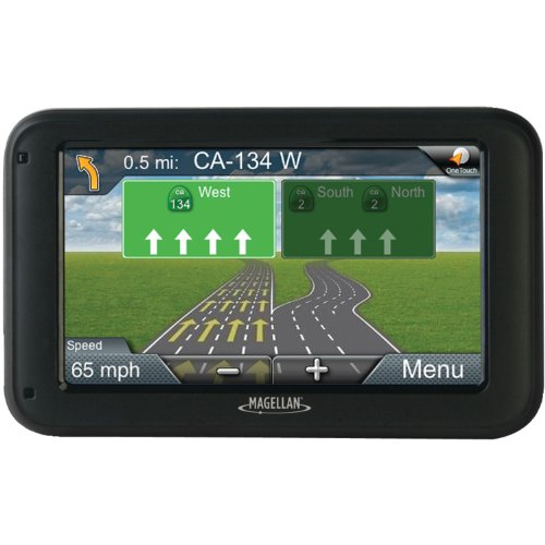 Magellan Rm5255Sgluc Roadmate 5-Inch Gps Device With Free Lifetime Map And Traffic Updates front-995374