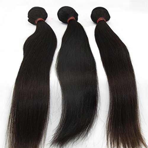 Lanova-Beauty-Girls-3PcsLot-Peruvian-Hair-Weave-Human-Hair-Silky-Straight-Mixed-Length-Size10-28