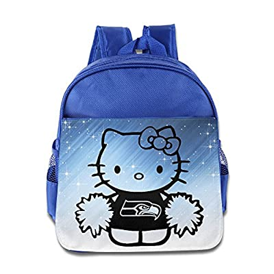 POOZ Seattle Seahawks Teenager School Bagpack Bag For Boys & Girls RoyalBlue