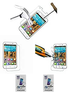 Acm Pack Of 2 Tempered Glass Screenguard For Gionee Gpad G3 Mobile Screen Guard Scratch Protector