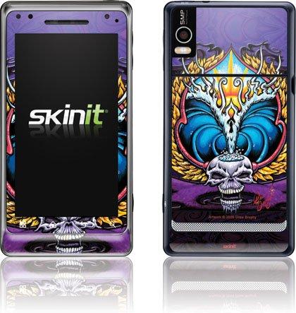Art - Winged Skull - Motorola Droid 2 - Skinit Skin butterfly green and black butterfly motorola droid 2 skinit skin
