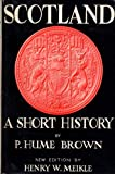 img - for Scotland : A Short History book / textbook / text book
