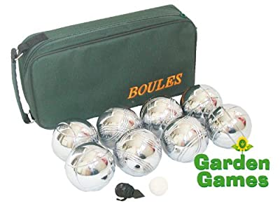 Garden Games 4-Player Boules in Bag Set