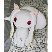コスプレ小物、道具♪魔法少女まどか☆マギカ キュウべえ ぬいぐるみ 人形 25*45cm コスチューム