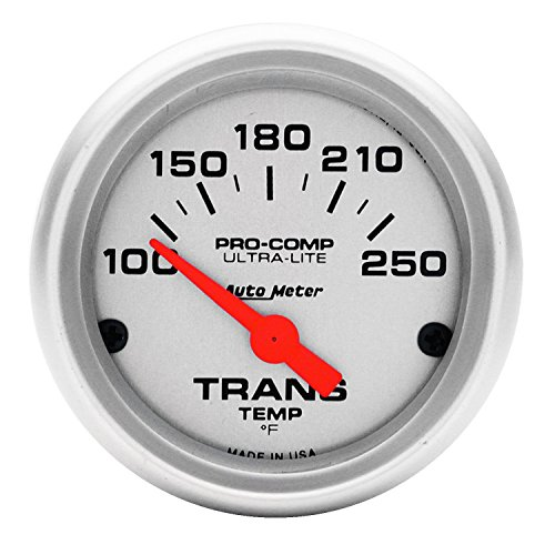 Auto Meter 4357 Ultra-Lite Electric Transmission Temperature Gauge (Auto Meter Oil Temperature Gauge compare prices)