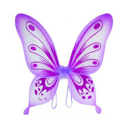 "WeGlow International 20"" Purple Sparkle Fairy Wing"