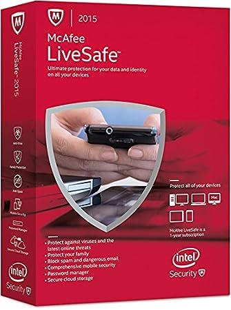 McAfee Inc  LiveSafe 2015