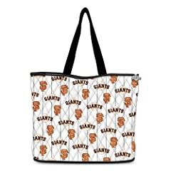 San Francisco Giants Quilted Tote Bag by The Bradford Exchange by Bradford Exchange