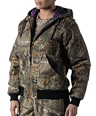 Walls Women's Ladies Insulated Hooded Jacket
