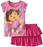 Nickelodeon Girls 2-6x Dora Hello Hola Skooter Set