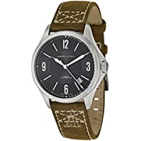 Hamilton H76565835 Khaki Aviation Men's Automatic Watch (Black)