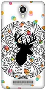 The Racoon Grip The Poser hard plastic printed back case / cover for Xiaomi Redmi Note 2