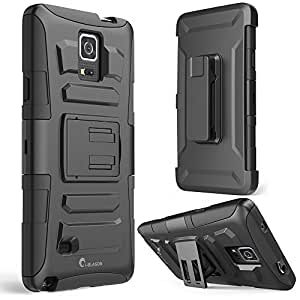 Galaxy Note 4 Case, i-Blason Prime Series Dual Layer Holster For Samsung Galaxy Note 4 [SM-N910S] with Kickstand...