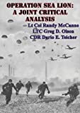 img - for Operation Sea Lion: A Joint Critical Analysis book / textbook / text book