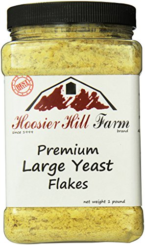 Hoosier Hill Farm Nutritional Yeast Flakes, 1 Pound (Macaroni And Cheese Topping compare prices)