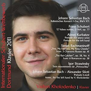 Int Schubert Competition 2011