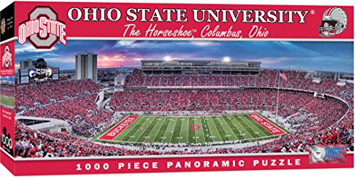 MasterPieces NCAA Ohio State Buckeyes Stadium Panoramic Jigsaw Puzzle (1000-Piece)