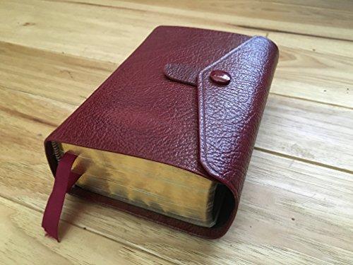LDS Compact Quad Scriptures Button Snap Black Leather Cover (1905-07-06) [Leather Bound] (Lds Compact Quad compare prices)