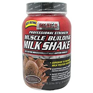 SIX STAR BODY FUEL MUSCLE BUILDING SHAKE CHOC 2LB, 2.51