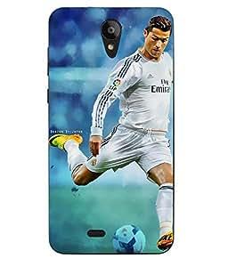 Case Cover Cristiano Ronaldo Printed Multicolor Hard Back Cover For Sony Xperia XA Ultra Dual