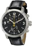 Tissot Men's TIST0554171605700 PRC 200 Chronograph Analog Display Swiss Quartz Black Watch