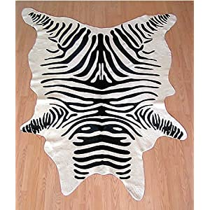 Cowhide Zebra XXl large stencil animal print