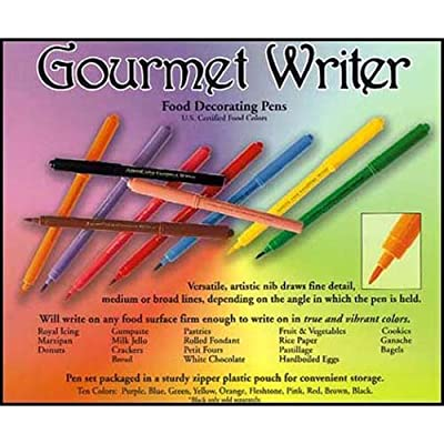 Gourmet Writer Food Decorator Pens, Assorted Colors