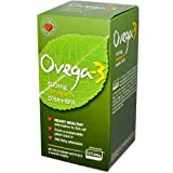 Ovega-3 Vegetarian Softgels, 500 mg, 60 Count