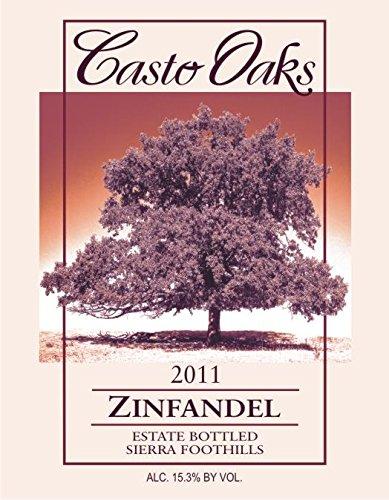 2011 Casto Oaks Zinfandel 750 Ml