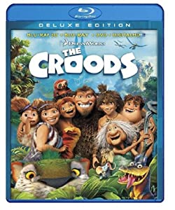 The Croods (Blu-ray 3D / Blu-ray / DVD + Digital Copy) from Dreamworks Animation