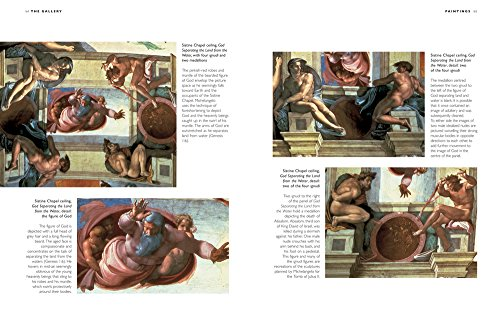 michelangelo and his works in various