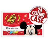 Jelly Belly Mickey Mouse Special Edition Jelly Beans - 1 oz Bag - 24 Count Case