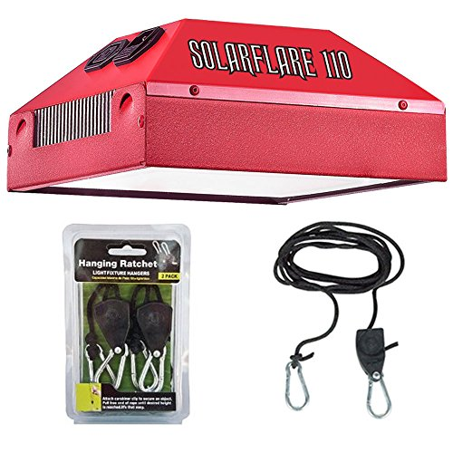 California Light Works Solar Flare 110W Led Grow Light - Bloom Booster With Free Ratchet Hangers