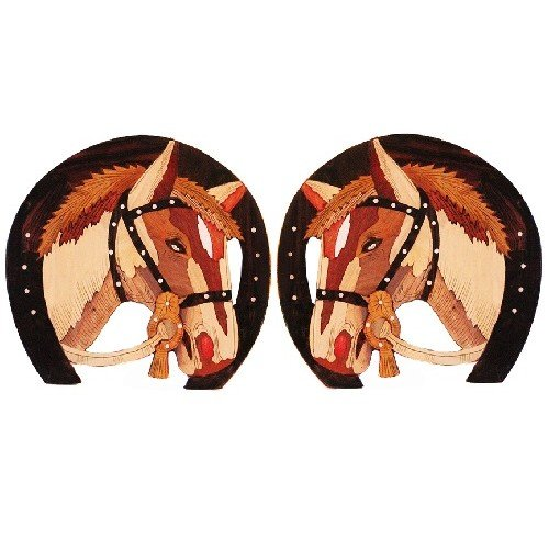 Kalaplanet Rosewood Horse - Set Of Two
