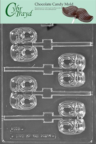 Cybrtrayd B063 Baby Sneaker Lolly Baby Chocolate Candy Mold front-985263