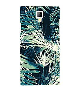 Leaf Tree Pattern 3D Hard Polycarbonate Designer Back Case Cover for Micromax Canvas Xpress A99